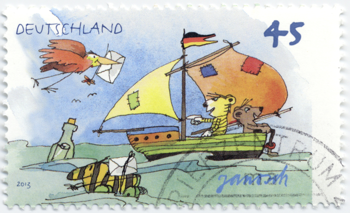 German Janosch stamps 1