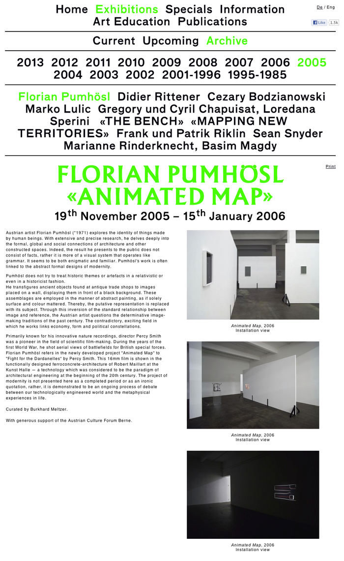 Kunst Halle Sankt Gallen Website 2