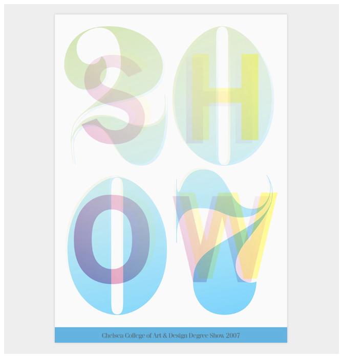 "Chelsea College of Art & Design: ""Show 2007"" 1"