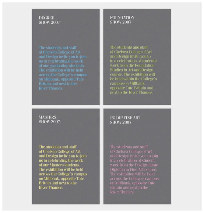 "Chelsea College of Art & Design: ""Show 2007"" 2"