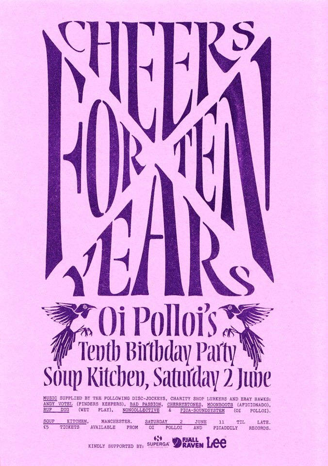 Oi Polloi's Tenth Birthday Party
