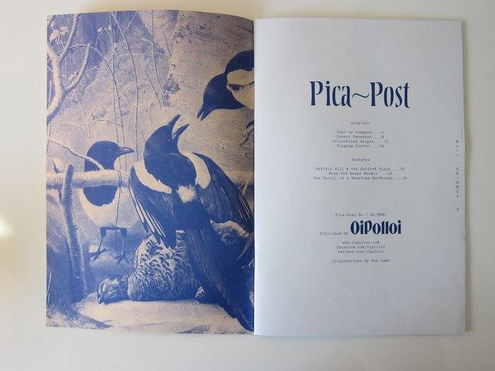 Pica-Post No. 1 3