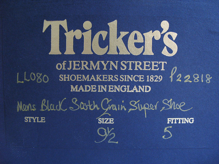 Tricker's Shoes 1