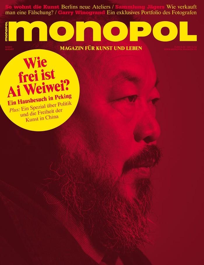 Monopol magazine covers 1