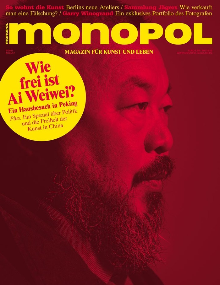 Monopol magazine covers 1
