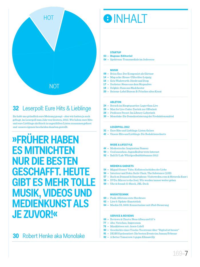 De:Bug Magazin für Elektronische Lebensaspekte 7
