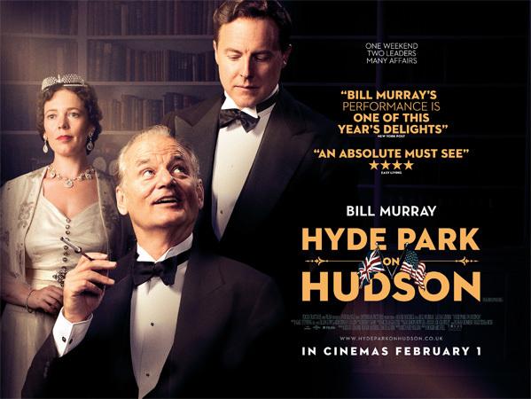 Hyde Park on Hudson UK promotion 1