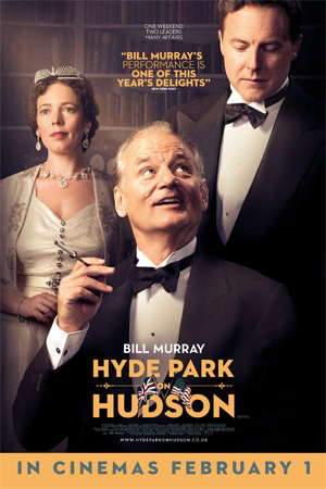 Hyde Park on Hudson UK promotion 2