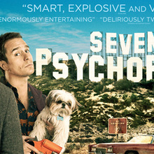 <cite>Seven Psychopaths</cite> UK advertising