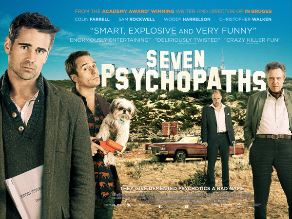Seven Psychopaths UK advertising 1