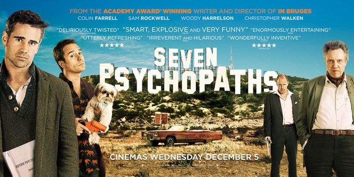 Seven Psychopaths UK advertising 3