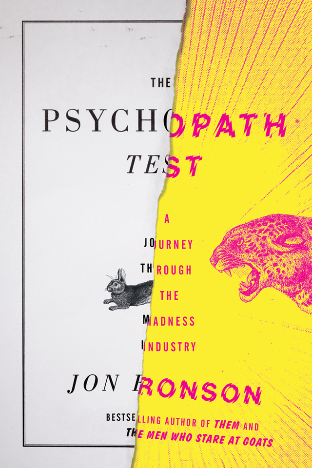 The Psychopath Test, Riverhead Books Edition 1