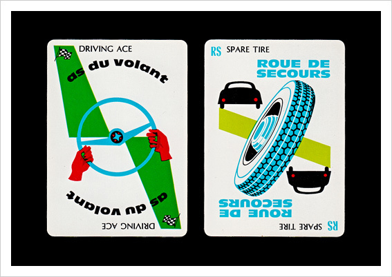 Mille Bornes Card Game (1960 Parker Brothers Bilingual Edition) 2
