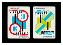 Mille Bornes Card Game (1960 Parker Brothers Bilingual Edition)