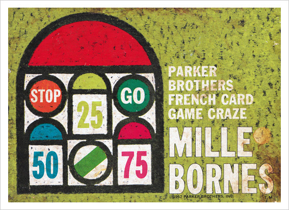 Mille Bornes Card Game (1960 Parker Brothers Bilingual Edition) 5