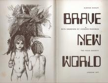 <cite>Brave New World</cite>, 1971 Folio edition