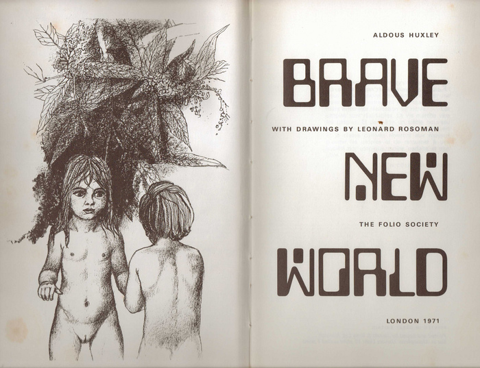 Brave New World, 1971 Folio edition 1