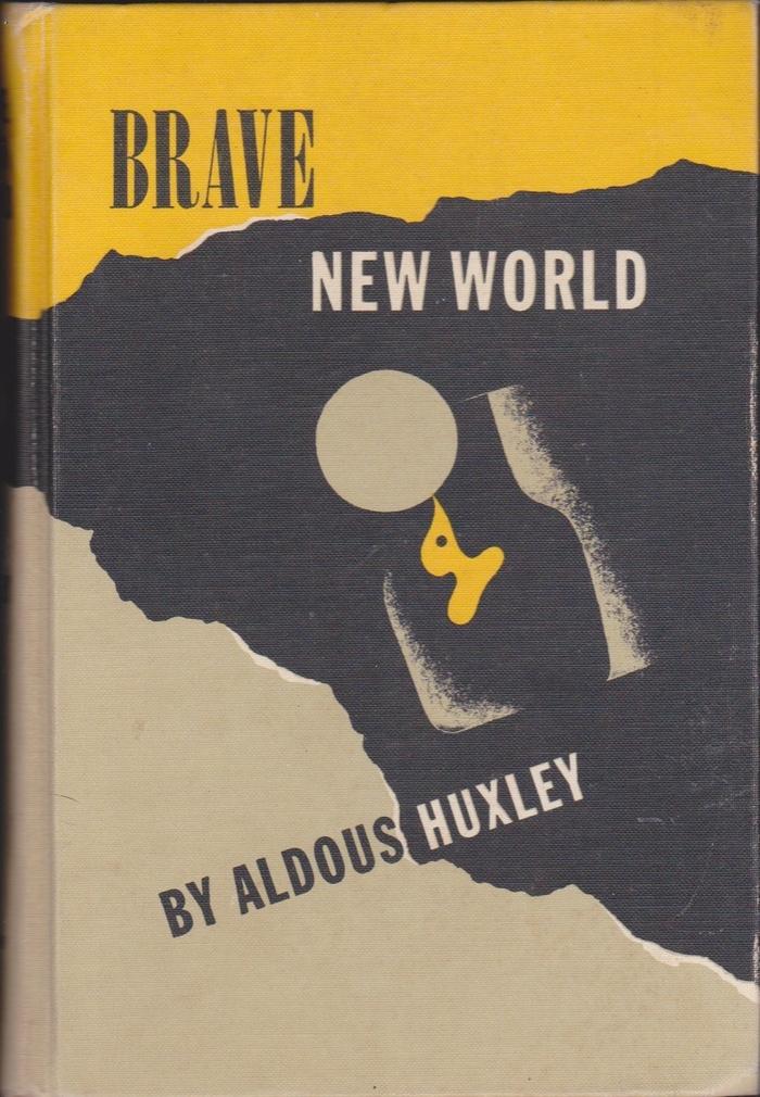 Brave New World, Harper Crest Library Edition 1