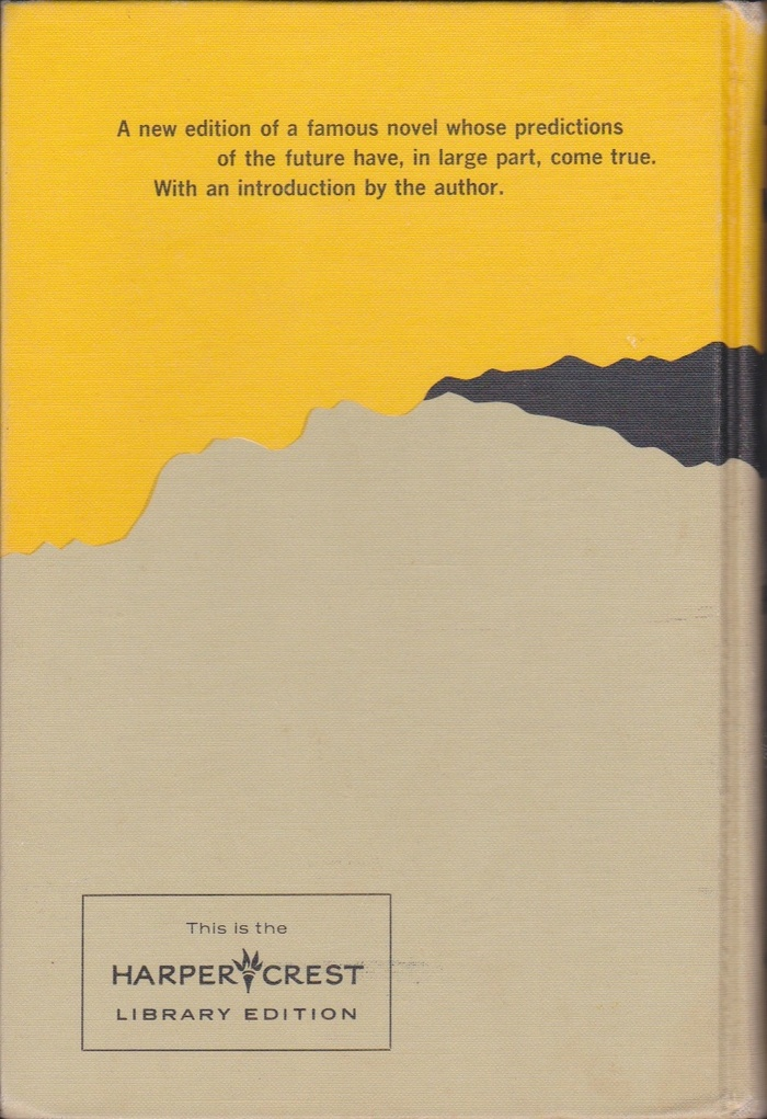 Brave New World, Harper Crest Library Edition 2