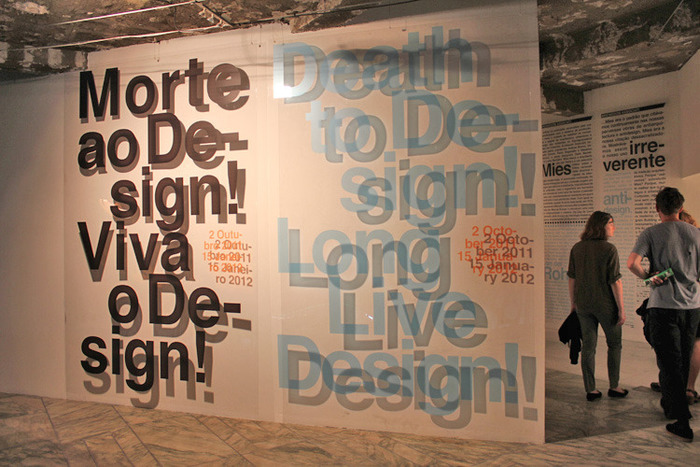 Death to Design! Long Live Design! Exhibition 1