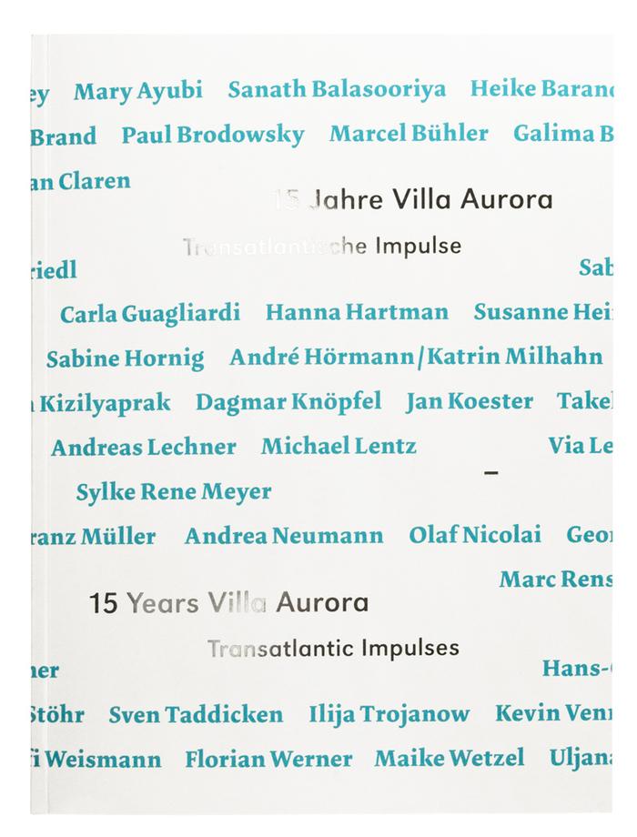 15 Years Villa Aurora Catalogue 1