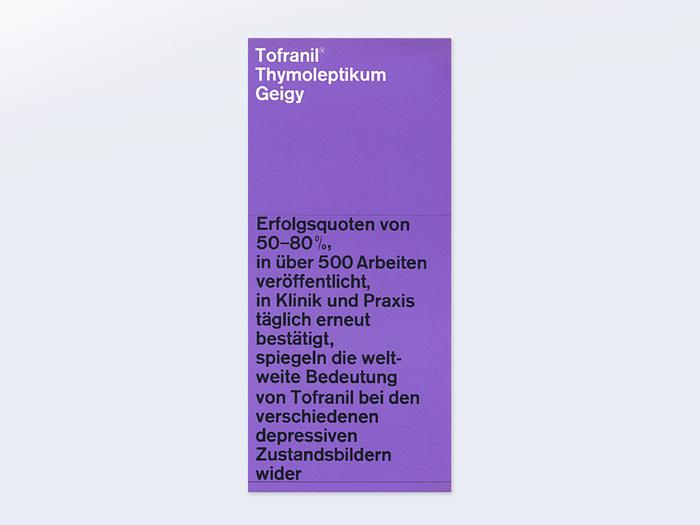 Tofranil, Geigy