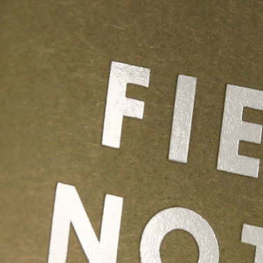 Field Notes 5