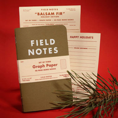 Field Notes 3