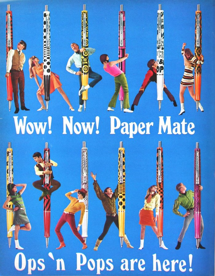 Paper Mate Ad