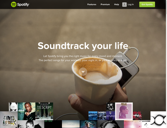 Spotify brand and website 1
