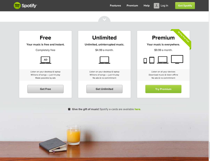 Spotify brand and website 3