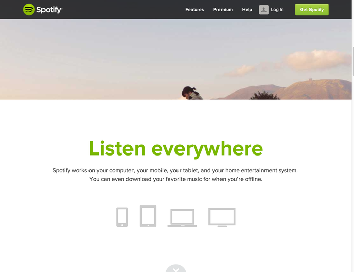 Spotify brand and website 4