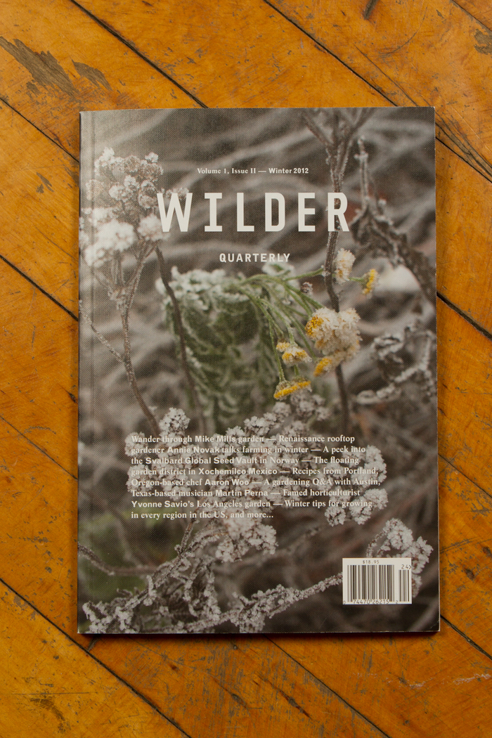Wilder Quarterly 2011–13 8