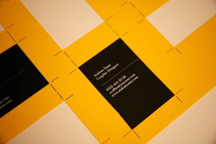 Atakan Yasar Business Cards 2