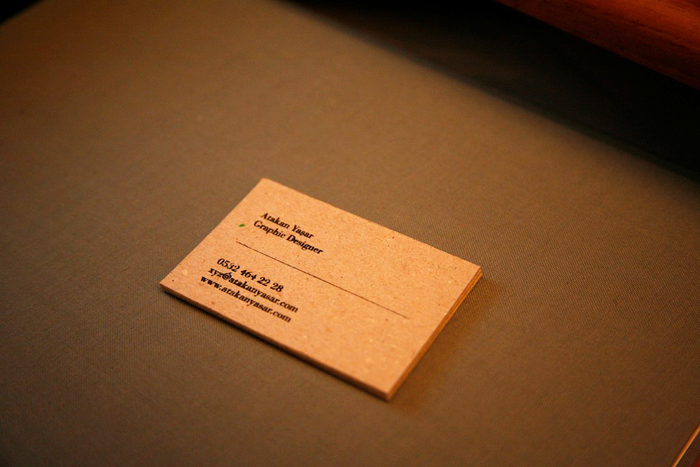 Atakan Yasar Business Cards 5