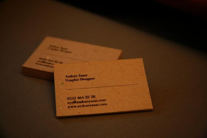 Atakan Yasar Business Cards 6