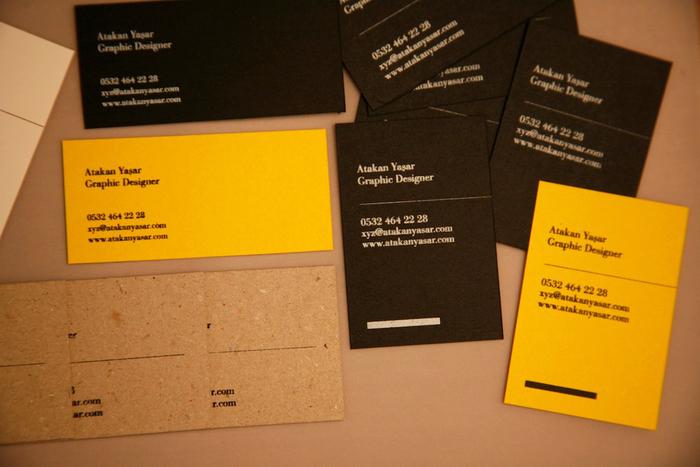 Atakan Yasar Business Cards 7