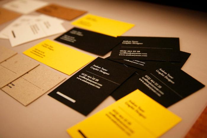 Atakan Yasar Business Cards 8