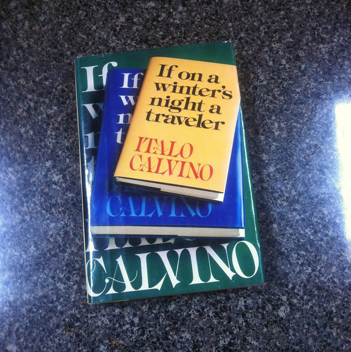 If On a Winter's Night a Traveler by Italo Calvino, 1979 Edition