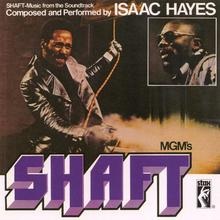 Isaac Hayes – <cite>Shaft</cite> soundtrack album art