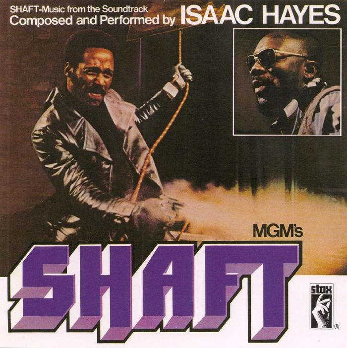 Isaac Hayes – Shaft soundtrack album art