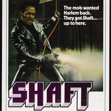 <cite>Shaft</cite> movie poster