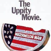 "<cite>Watermelon Man</cite> Movie Poster: ""The Uppity Movie"""