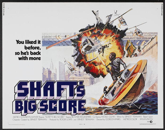 Shaft's Big Score! movie posters 2