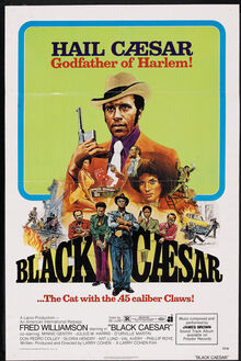 <cite>Black Caesar</cite> movie poster