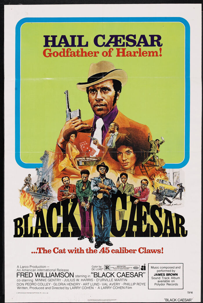 Black Caesar movie poster