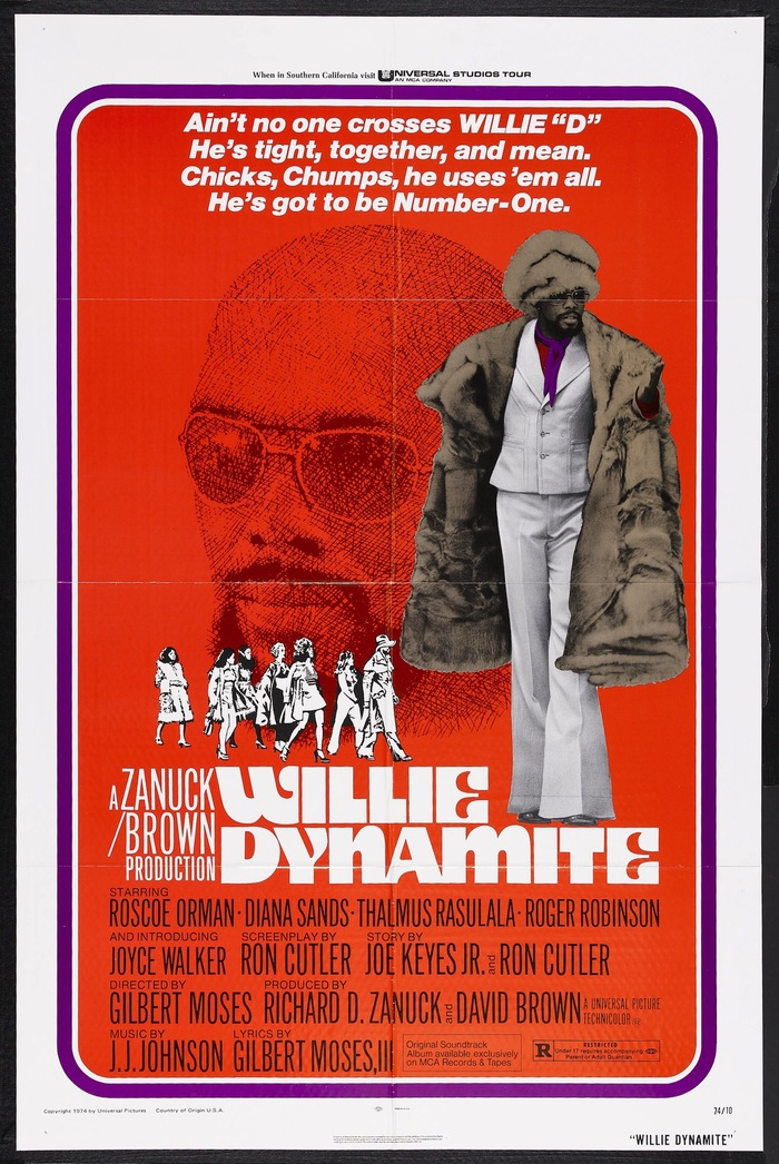 Willie Dynamite Movie Posters 1