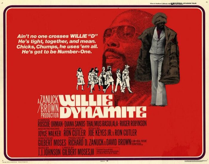 Willie Dynamite Movie Posters 2