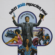 <cite>Sweet Jesus, Preacher Man</cite> (1973) movie posters