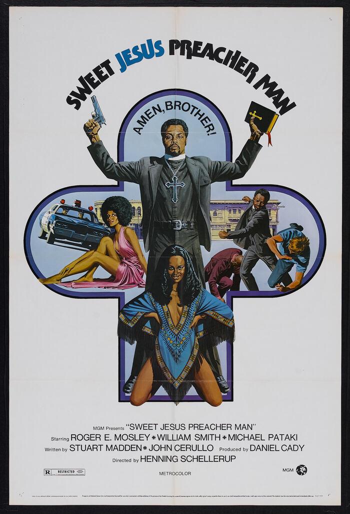 Sweet Jesus, Preacher Man (1973) movie posters 1
